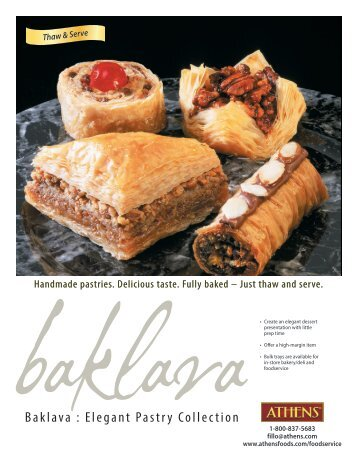Baklava : Elegant Pastry Collection - Phyllo.com