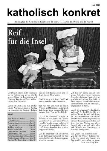 Ausgabe Juli 2013 - Liebfrauen Bad Cannstatt