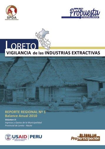 Vigilancia de las Industrias extractivas # 1. Balance anual 2010 (Vol.2)