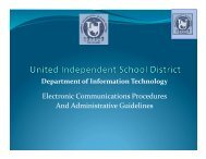 Electronic Communications Procedures and Administrative ...
