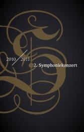 2010 2011 2. Symphoniekonzert - Staatskapelle Dresden