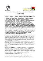 Spiel! 2011: Cuban Nights Drawn in Fluxx!