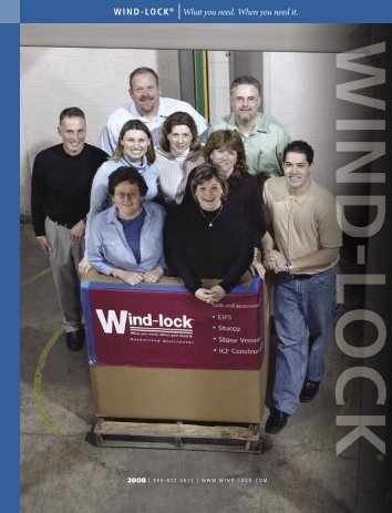 2008 Wind-lock Catalog