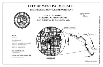 19th st. and 21st st. streetscape improvements east parkway to ...