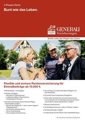 Generali 3 Phasen Rente PDF
