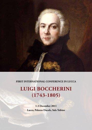 Programma - Provincia di Lucca