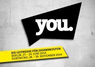 Informationsbroschüre YOU 2014 (PDF, 4,1 MB)
