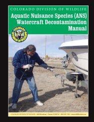 Watercraft Decontamination Manual - Aquatic Nuisance Species ...