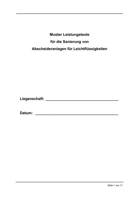 A6_san_leistungstexte_LFA.pdf - Arbeitshilfen Abwasser