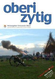 Ausgabe Juli 2013 / Nr. 198 - Ortsverein Oberwinterthur