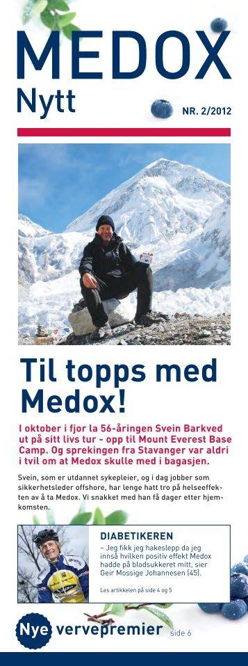 Til topps med Medox!