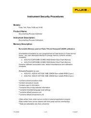 Instrument Security Procedures - PCE Instruments