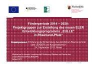 Präsentation Projektgruppe 3 24.09.2013 - eler-paul - in Rheinland ...