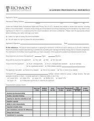 Academic ReferenceNEW:Academic Reference - Richmont ...