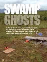 In Papua New Guinea, a journalist investigates the - Veterans ...