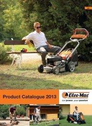 2013 Consumer Catalogue - Oleo-Mac