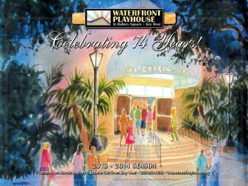 Brochure (PDF) - Waterfront Playhouse
