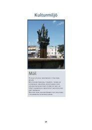 Kulturmiljö Mål - Vänersborgs kommun
