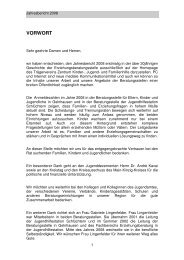 Jahresbericht 2008 - Zentrum für Kinder-, Jugend