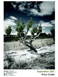 Download Oregon Price Book - Pacific Northwest Wine Company