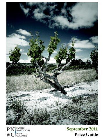 Download Oregon Price Book - Pacific Northwest Wine Company