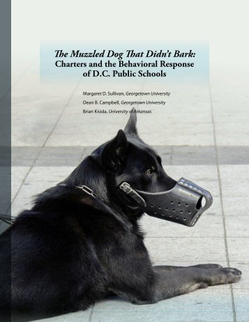 The Muzzled Dog That Didn't Bark: - Georgetown University - Health ...
