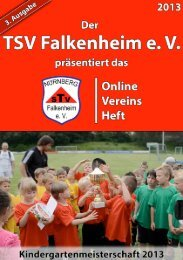 Danke! - beim TSV-Falkenheim