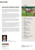 CHbraunvieh 03-2013 [8.52 MB] - Schweizer Braunviehzuchtverband - Page 3