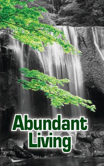 Abundant Living - GlobalReach.org