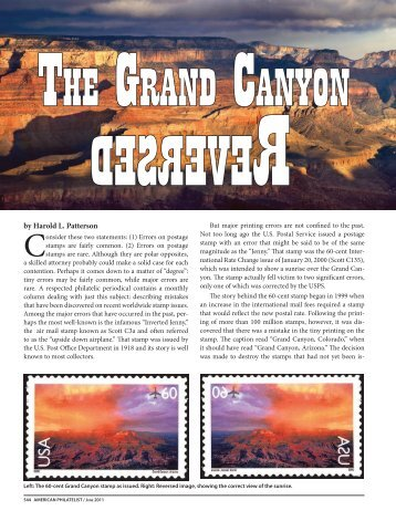 Feature Article - American Philatelic Society