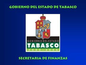 secretaria de finanzas gobierno del estado de tabasco