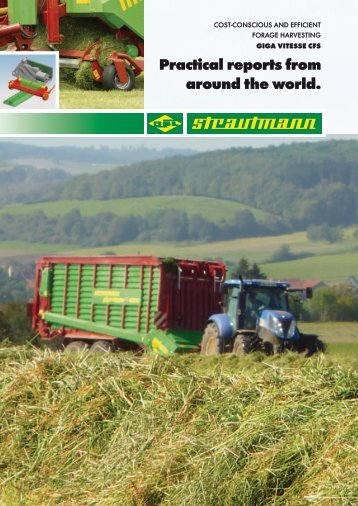 Forage harvesting in europe and australia