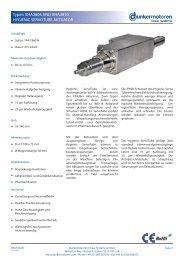 Datenblatt - Dunkermotoren