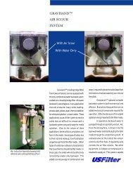 GRAVISAND AIR SCOUR SYSTEM - Siemens