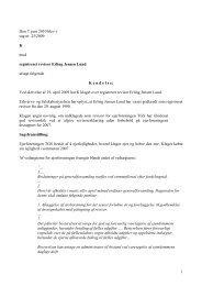 1 Den 7. juni 2010 blev i sag nr. 25/2009 K mod ... - Revisornævnet