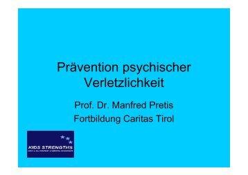 Prävention psychischer Verletzlichkeit - Kinderleicht