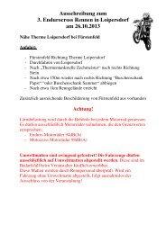 Ausschreibung - Gemeinde Loipersdorf