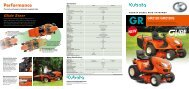 the GR2120 is exactly the right - Kubota (Deutschland) GmbH