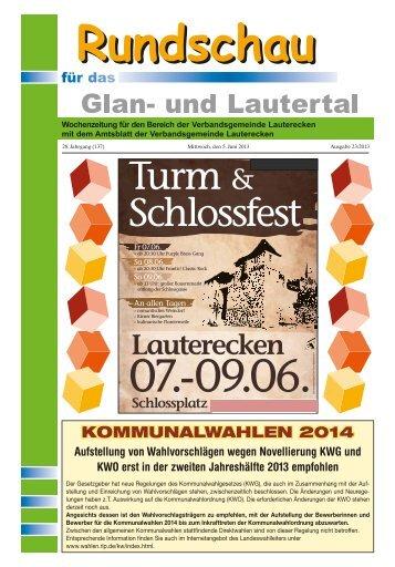 Amtsblatt KW 23 - Verbandsgemeinde Lauterecken