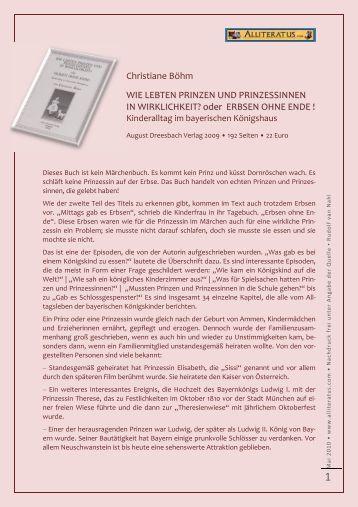 Christiane Böhm WIE LEBTEN PRINZEN UND PRINZESSINNEN IN ...