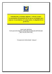 Globalización, sociedades digitales y reforma escolar - Grupo de ...
