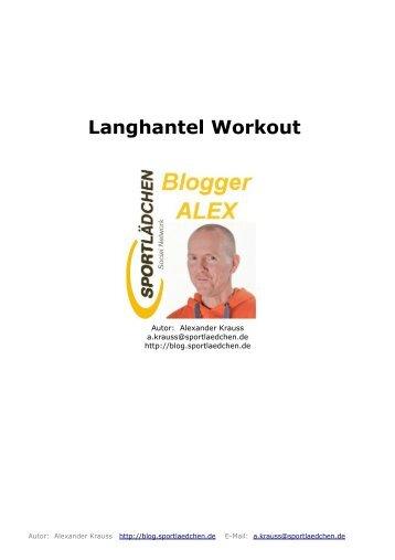 Langhantel Workout – Ein Ganzkörperprogramm für Zuhause oder ...