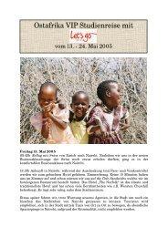 Zanzibar & Kenia - Hertig Reisen AG