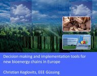 Decision making and implementation tools for new ... - B2Match
