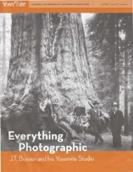 Everything Photographic: J. T. Boysen and his ... - Yosemite Online
