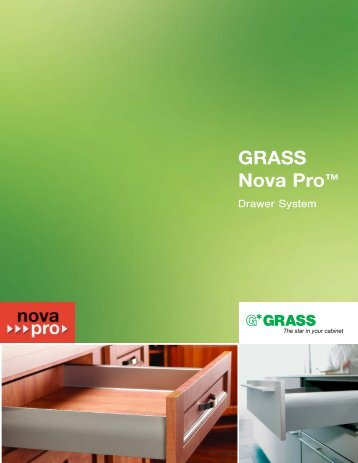 GRASS Nova Pro™ - Baer Supply Company