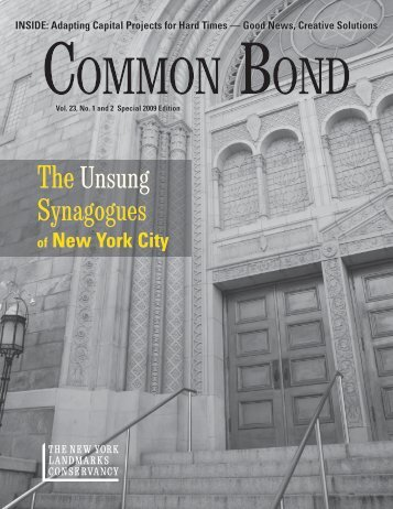 Download Common Bond (PDF) - The New York Landmarks ...