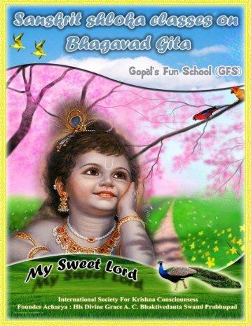 GFS My Sweet Lord - Gopal's Fun school