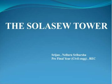 THE SOLASEW TOWER