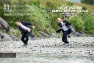 Liechtenstein einen Steinwurf voraus - Regierung des Fürstentums ...
